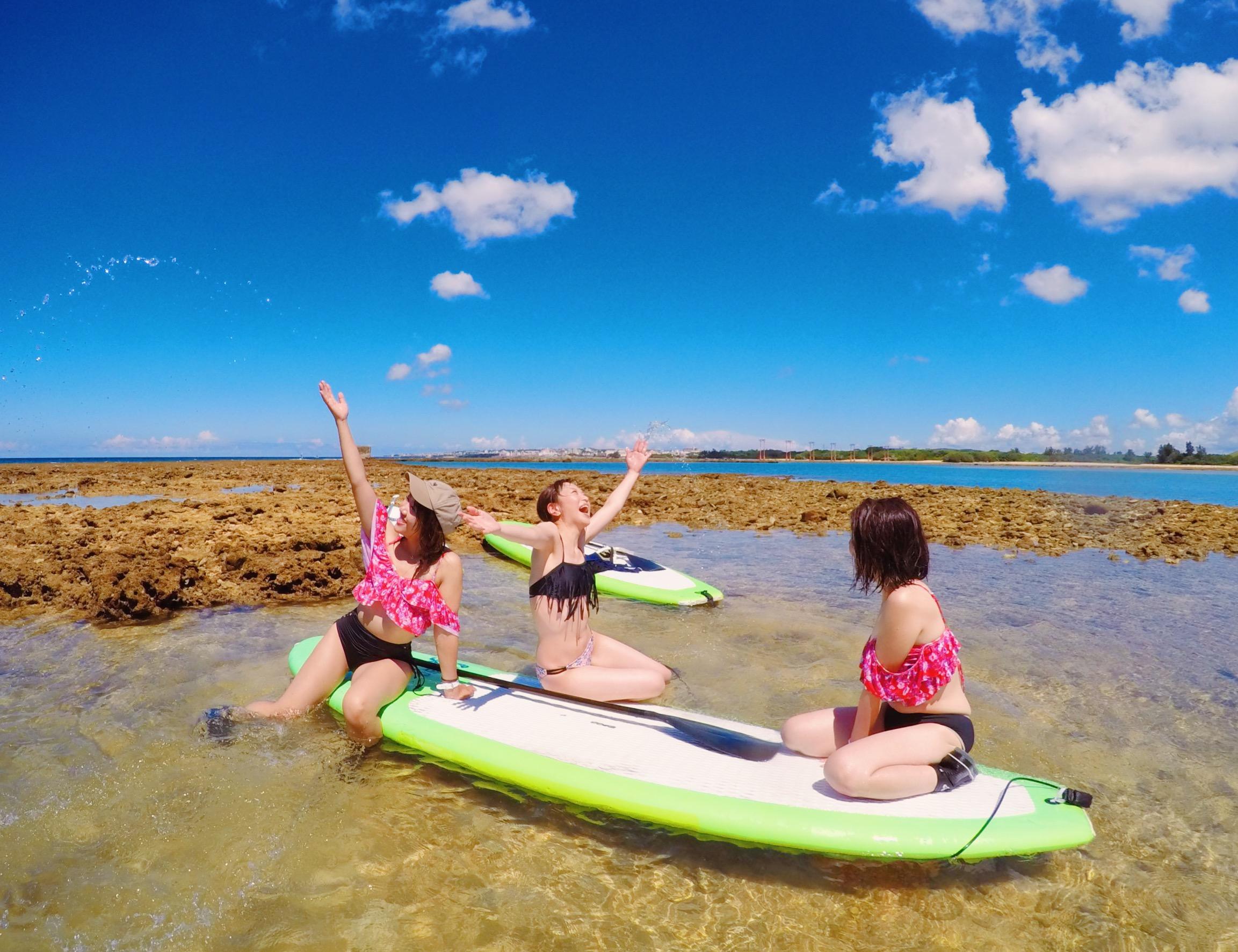 沖縄でサーフィンをしよう!