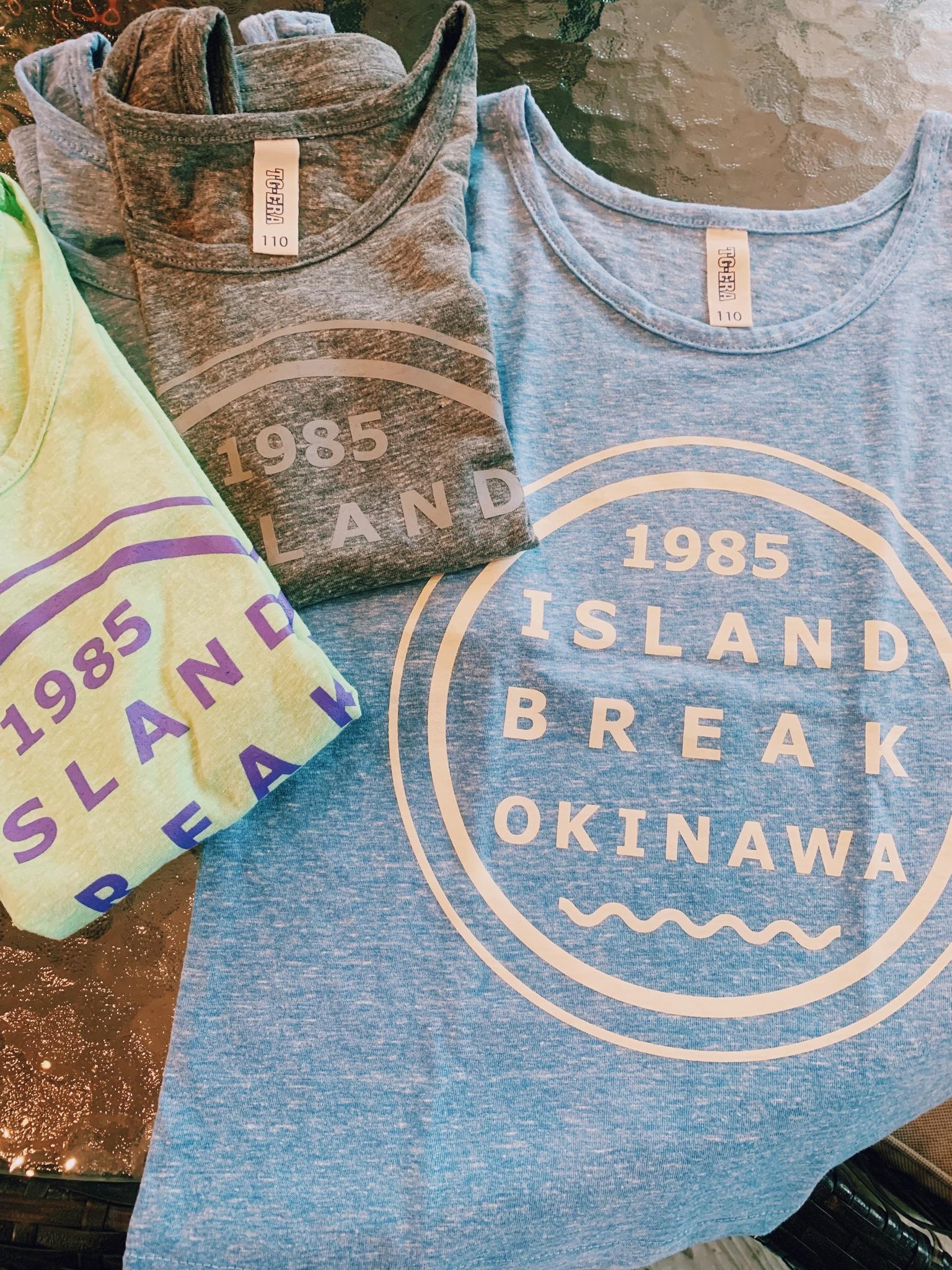 アイランドブレイク沖縄オリジナルTシャツ